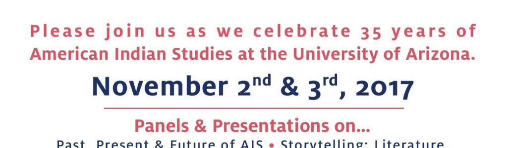 Register Now at: https://www.eventbrite.com/e/past-present-future-celebrating-35-years-of-american-indian-studies-tickets-37705749913