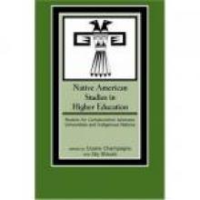 Cover Image of Native American Studies in Higher Education